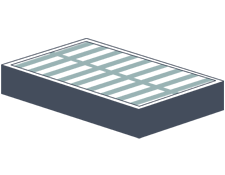 slatted foundation