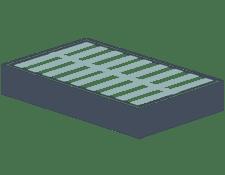 slatted foundation