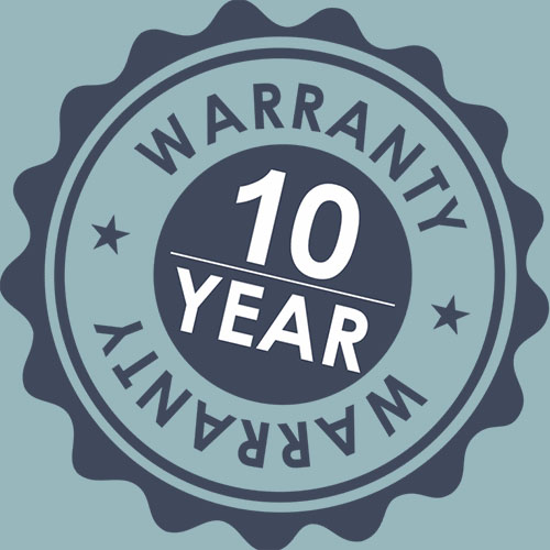 Amore Beds 10-Year Warranty
