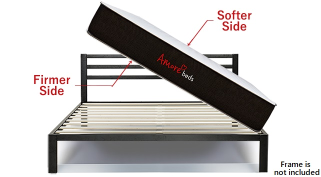 Amore Beds 2-sided flippable mattress