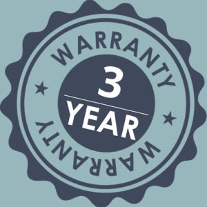 Amore 3 year warranty