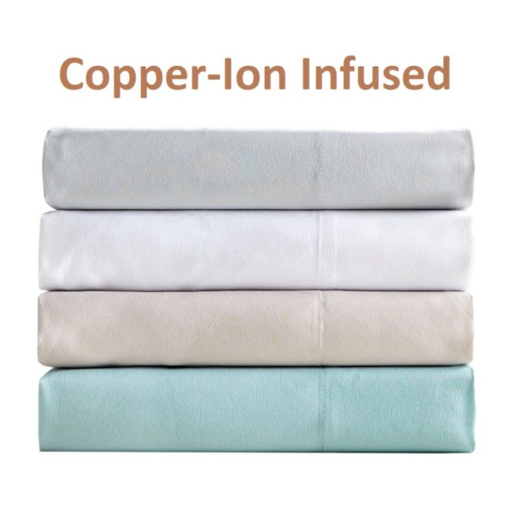 Copper-Ion Infused Sheets