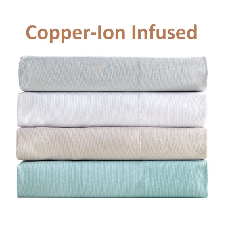 Copper Ion Infused Sheets Amore Beds Luxury Copper Sheets