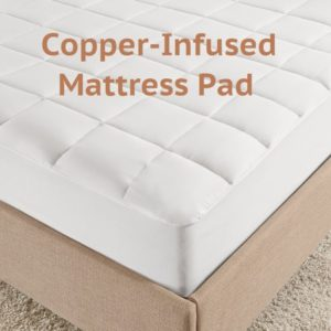 Copper Infused Mattress Pad