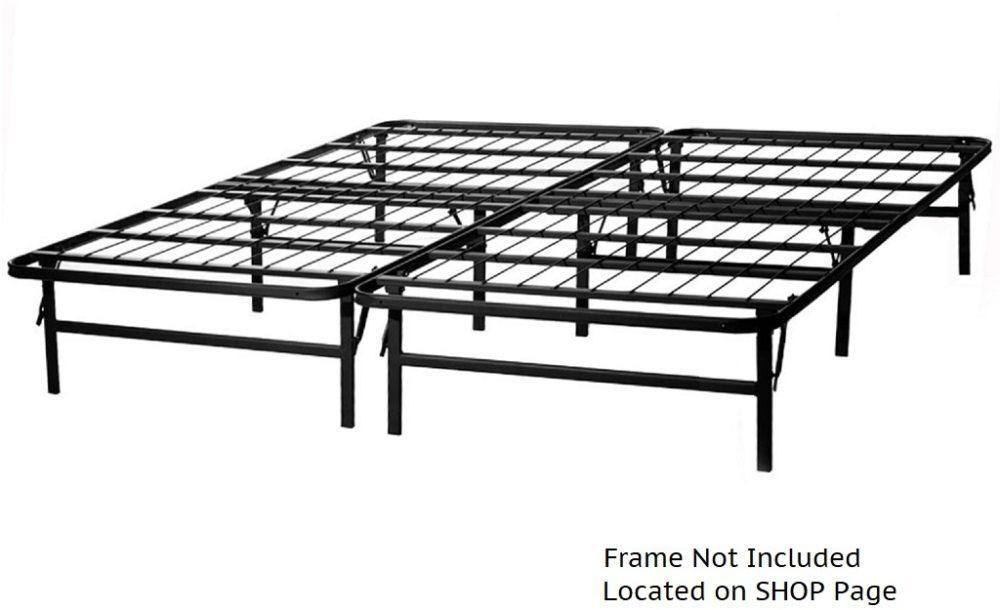 Folding Metal Platform Frame