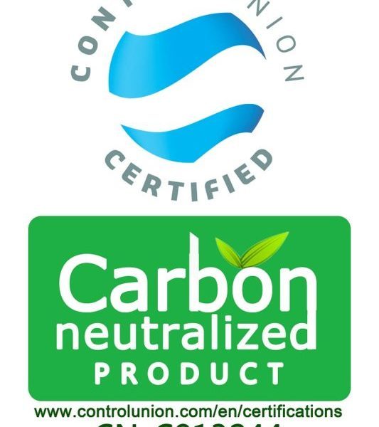 Control Union environmental certificate Carbon Neutral