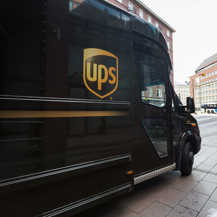 UPS Delivery To Your Door